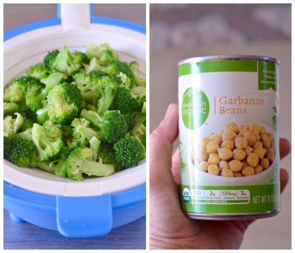 Quinoa Broccoli Salad with Spinach and Feta   mountainmamacooks.com