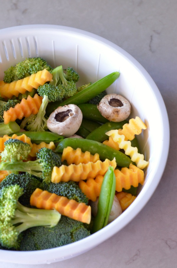 Coconut Rice and Steamed Veggies | mountainmamacooks.com