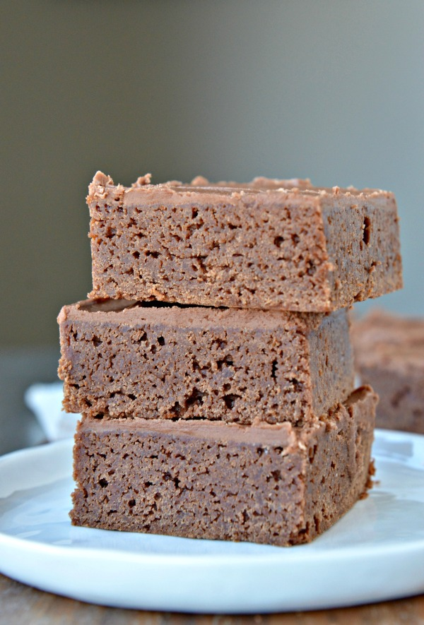 Lunch Lady Brownies | www.mountainmamacooks.com