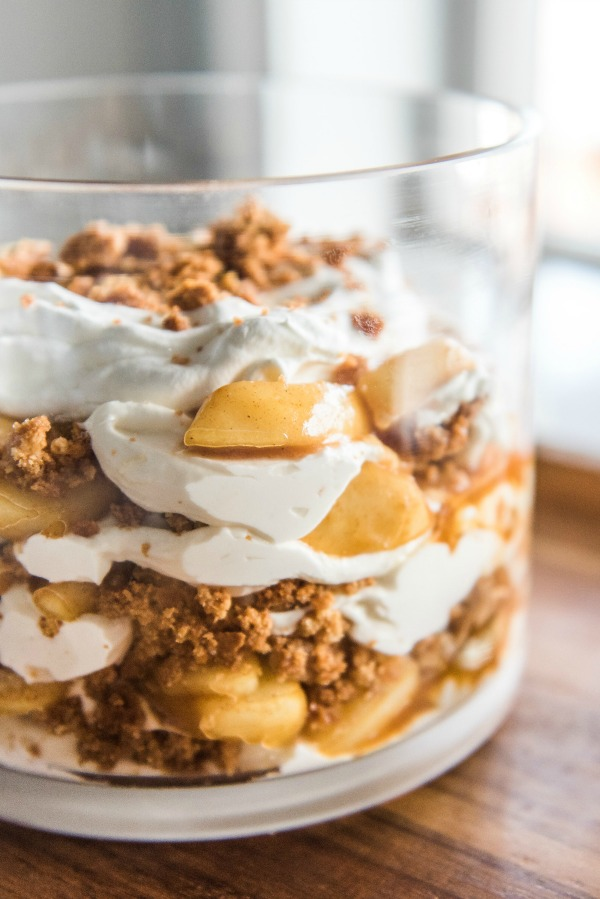 Apple Pie Trifle Mountain Mama Cooks