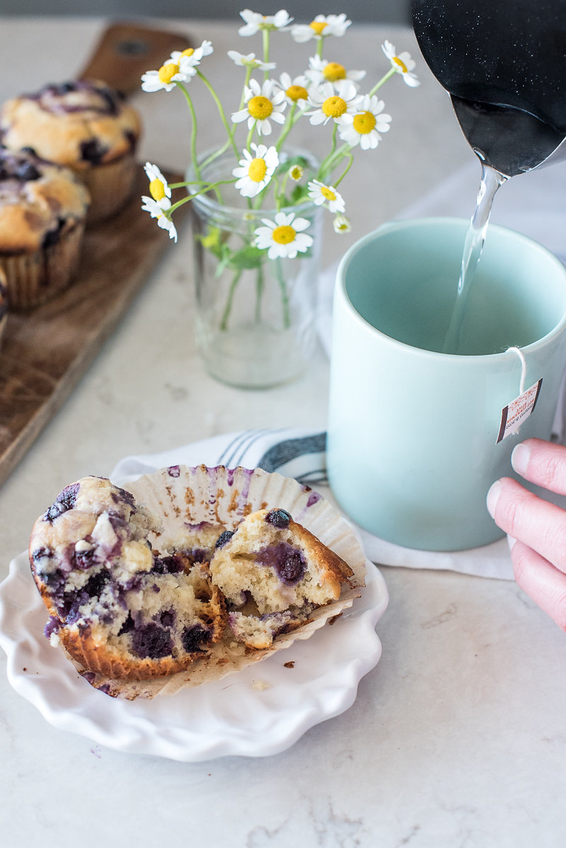 High Altitude Blueberry Muffin Recipe | www.mountainmamacooks.com