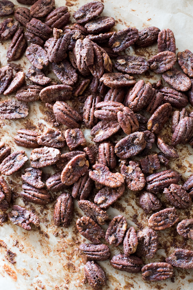 Candied Pecans | www.mountainmamacooks.com