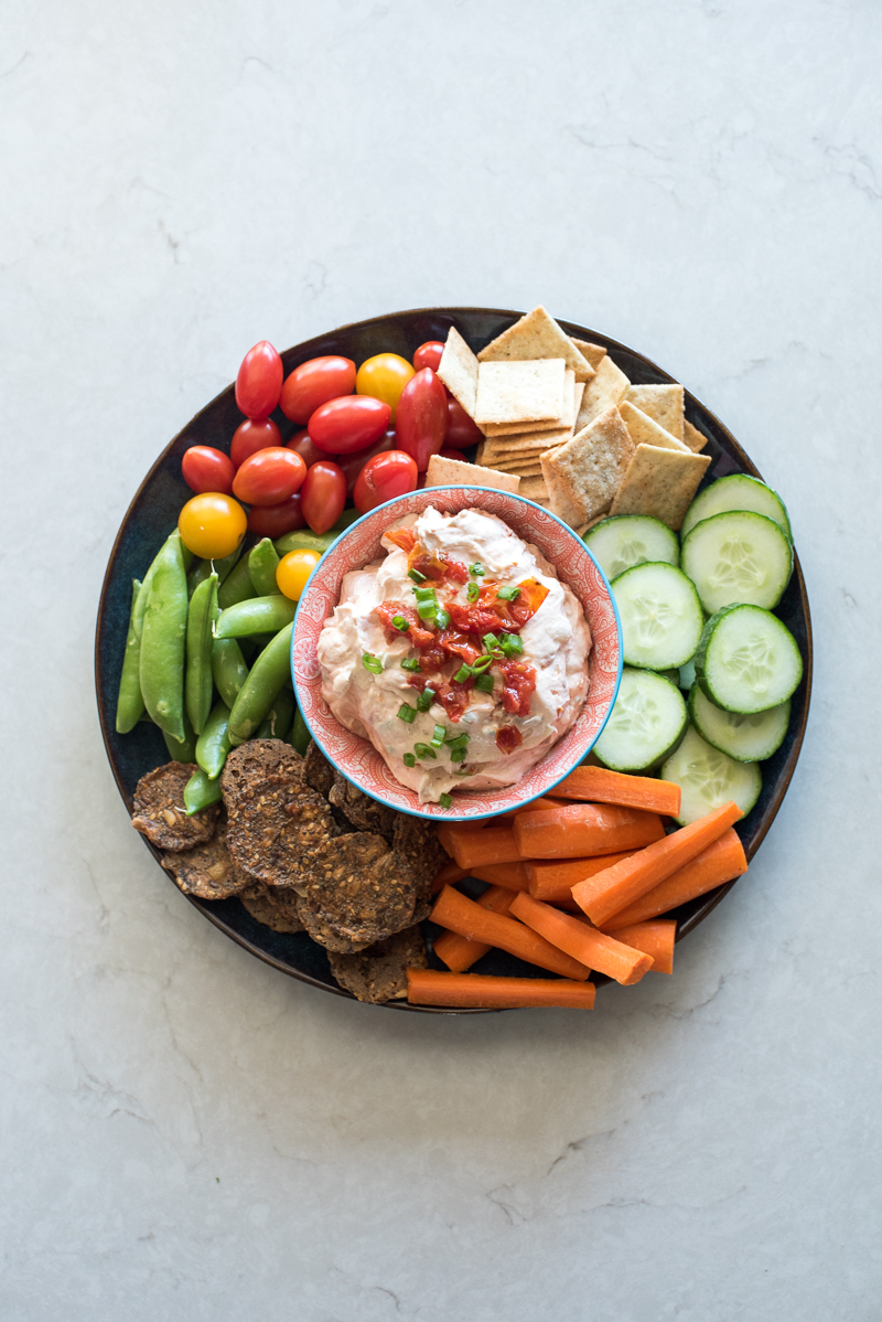 Sun Dried Tomato Dip | www.mountainmamacooks.com