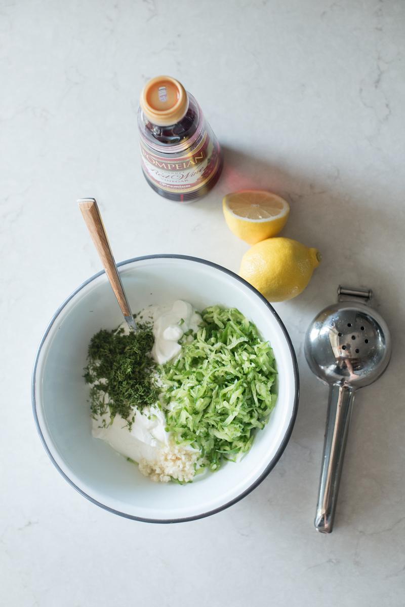 Tzatziki Sauce Recipe | www.mountainmamacooks.com