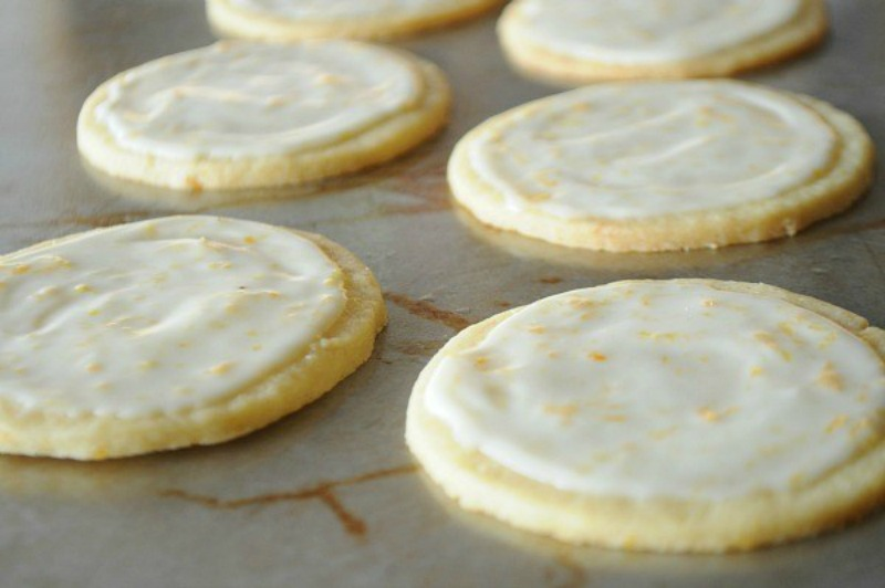 Clementine Butter Cookies | www.mountainmamacooks.com