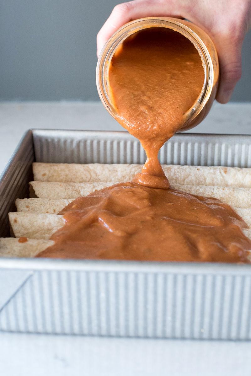 Homemade Enchilada Sauce | mountainmamacooks.com