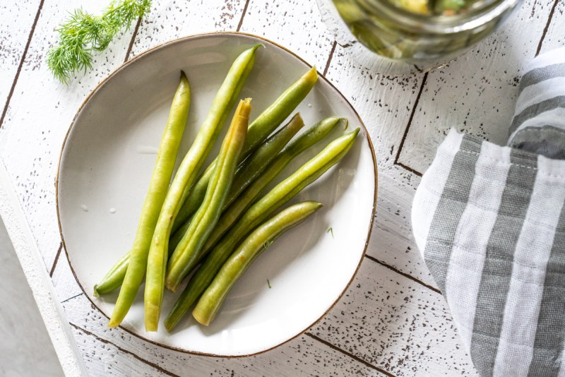 Sweet Pickled Green Beans | www.mountainmamacooks.com