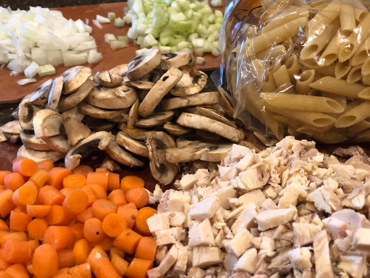 ingredients for chicken soup