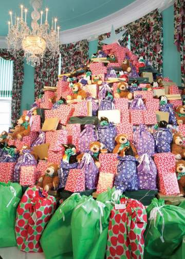 """Last year's """"Dream Tree"""" at The Greenbrier."""