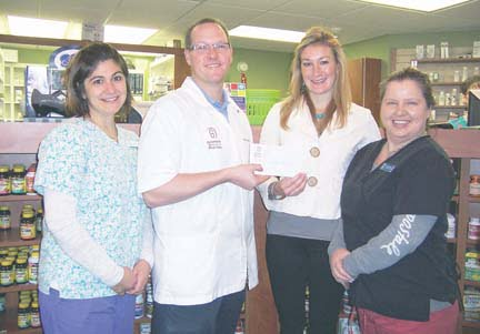 Greenbrier Medical Arts Pharmacy Donates Chamber Winnings to FRC