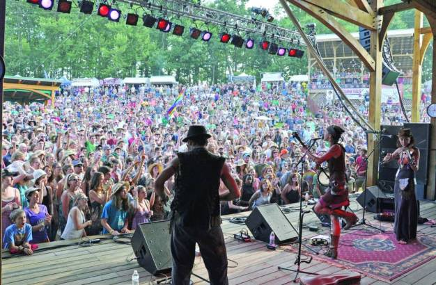 The five day long FloydFest starts July 23rd!
