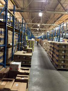 EvriChart's WSS warehouse houses 50,000 square feet of medical documents, all a quick barcode scan away from being put to use in a medical emergency anywhere in the United States.