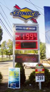 Gas at the Sunoco in Fairlea falls below $2 a gallon. Any reports of gas lower than this $1.99 around Greenbrier County?