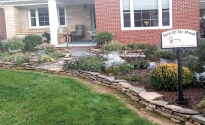 Barbara Rich won the September Yard of the Month. The Lewisburg Yard of the Month contest is sponsored by Greenbrier Gardeners garden club as part of the Lewisburg in Bloom activities.