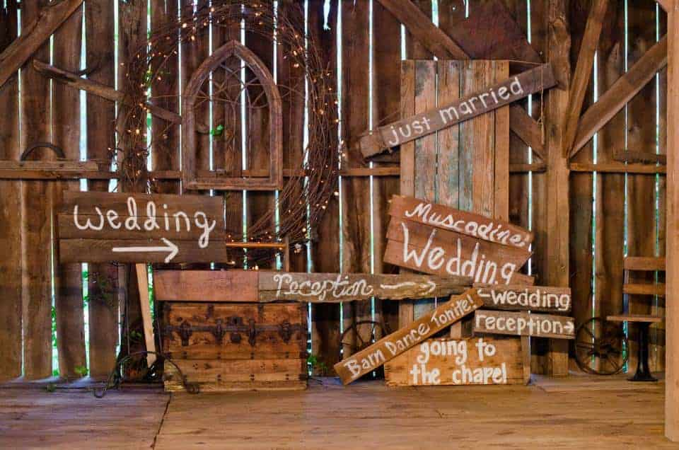 Rustic Chic Barn Wedding Venues in Georgia  Upcycled