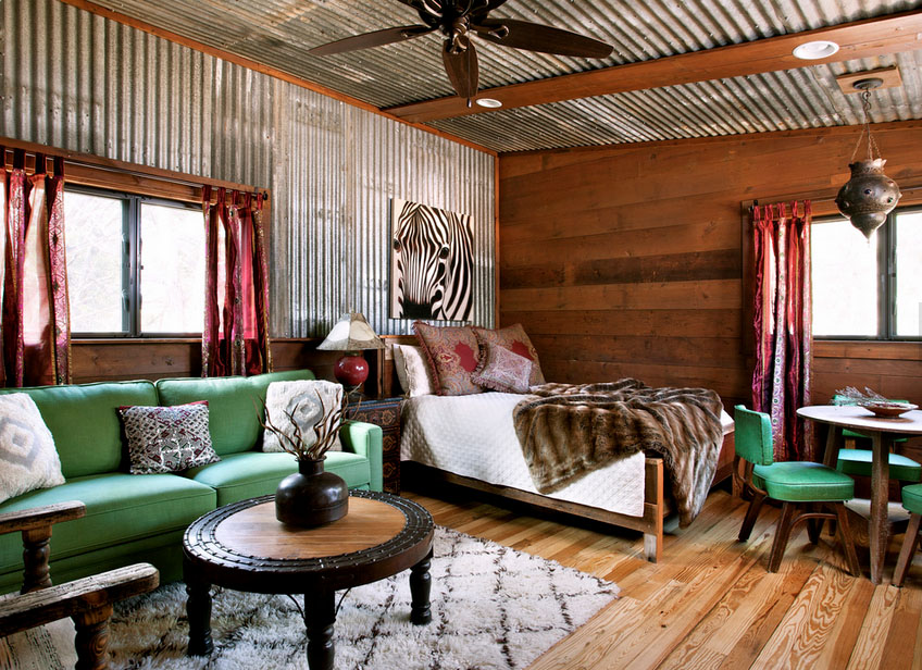 Buck's Bend with Corrugated Metal   Reclaimed Space