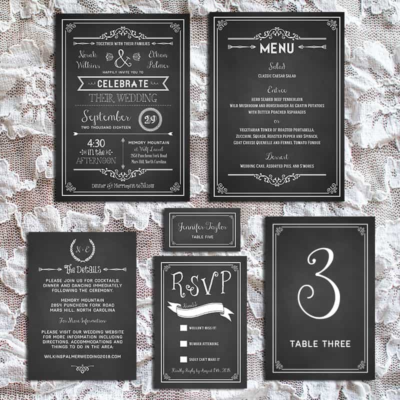Rustic Wedding Invitation Fonts: FREE Fonts To Use On Rustic Or Vintage Inspired Wedding