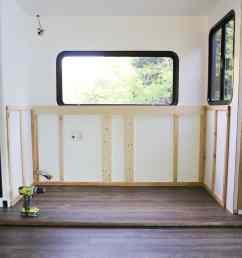 renovating your motorhome come see how we re installing a hidden tv lift  [ 800 x 1138 Pixel ]