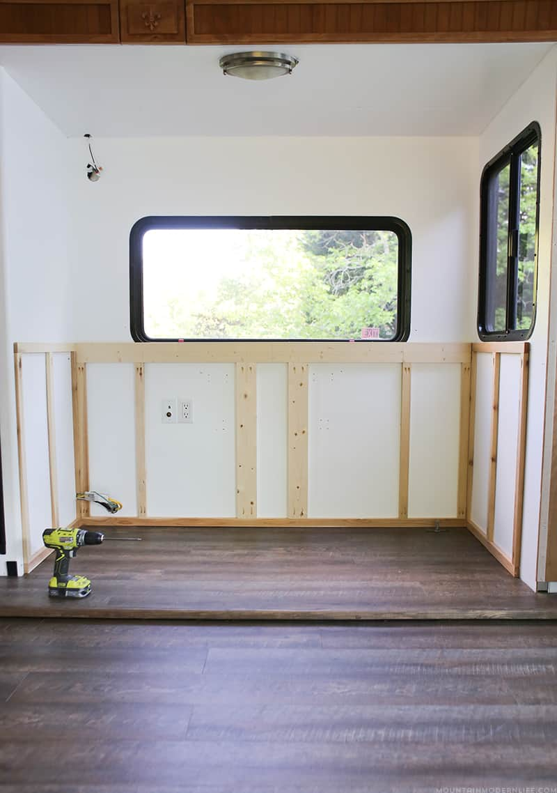 hight resolution of renovating your motorhome come see how we re installing a hidden tv lift