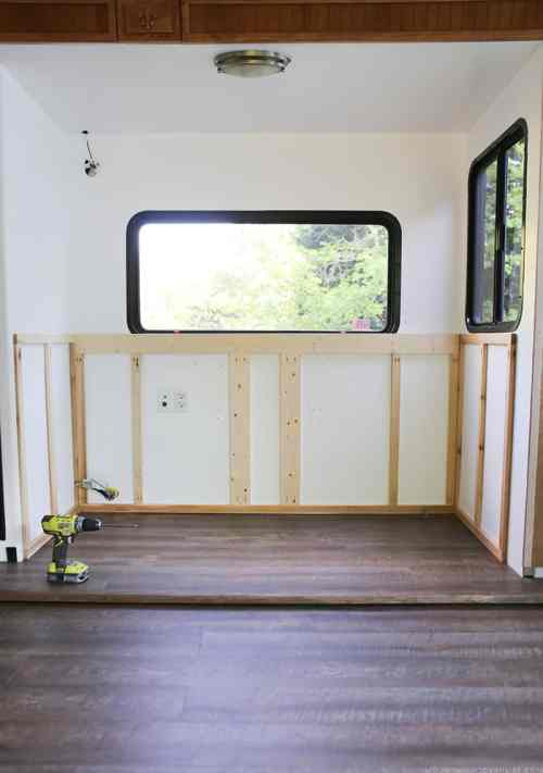 small resolution of renovating your motorhome come see how we re installing a hidden tv lift