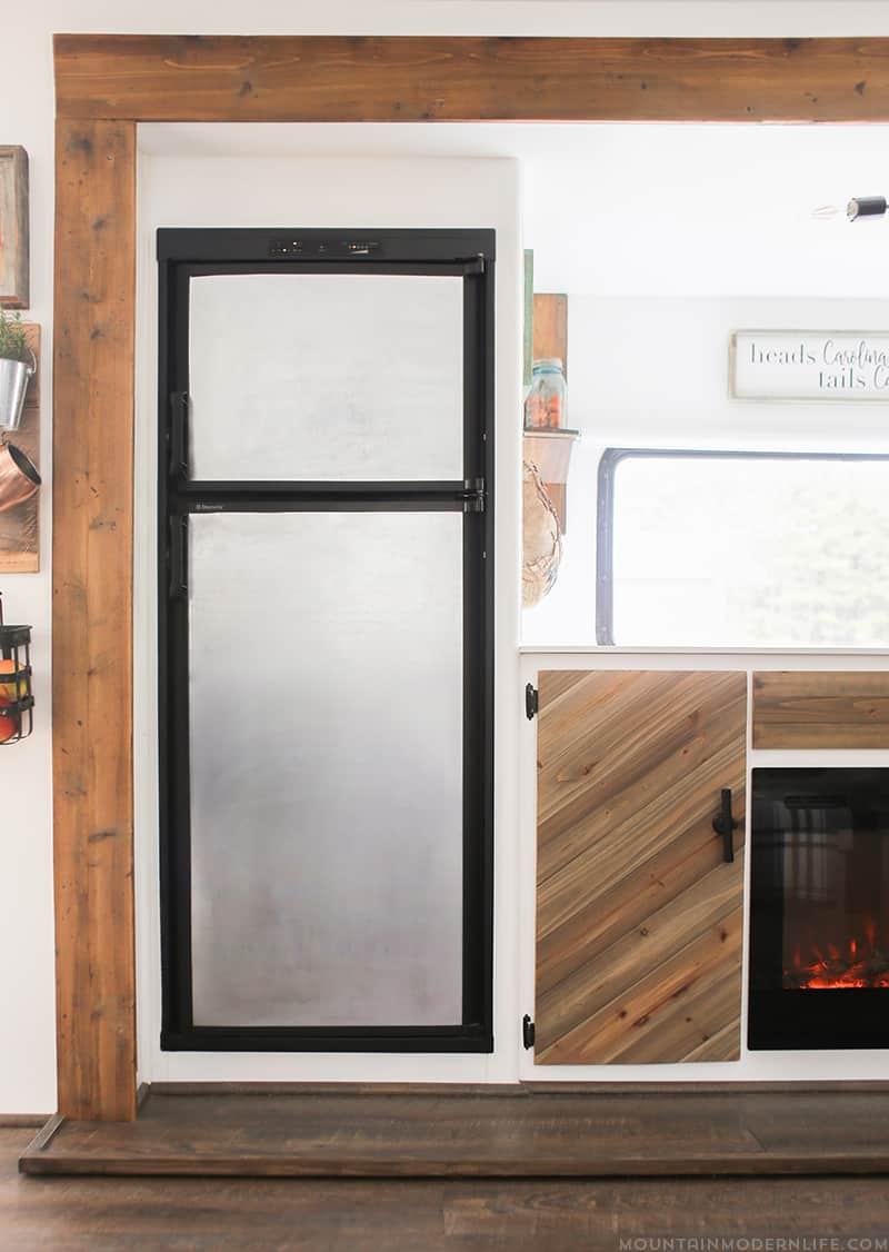 How to turn your RV Fridge into a Magnetic Dry Erase Board