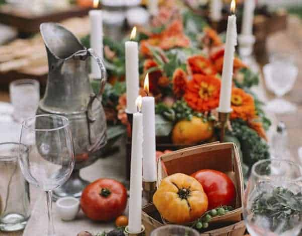 Nature Inspired Tablescapes