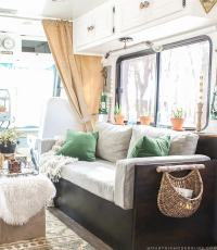 How to Update RV Interior Lighting | MountainModernLife.com