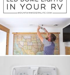 updating led light fixtures in rv mountainmodernlife com [ 800 x 1334 Pixel ]
