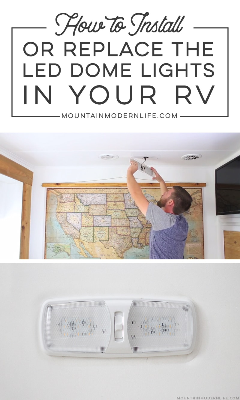 hight resolution of updating led light fixtures in rv mountainmodernlife com