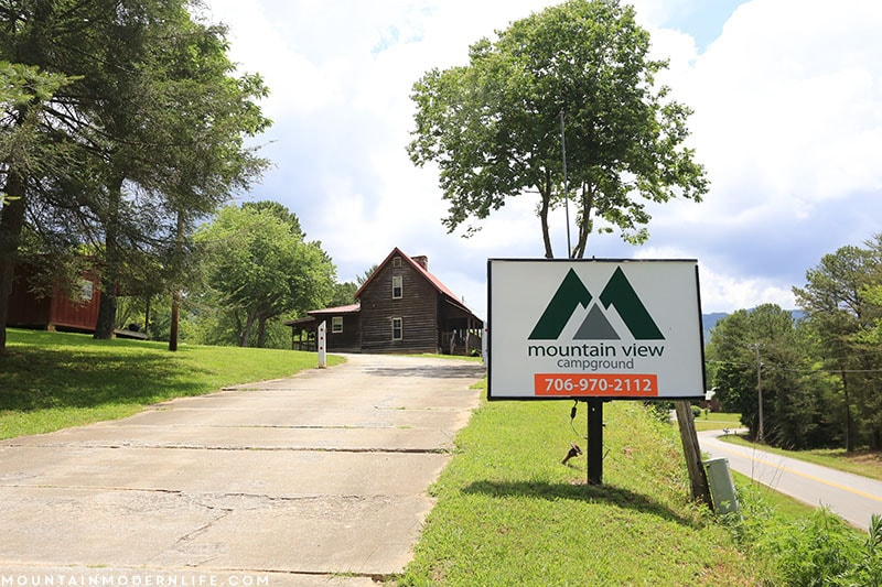 Looking for an RV Park nestled in the Blue Ridge Mountains of Northern Georgia? Check out Mountain View Campground in Hiawassee, Georgia!