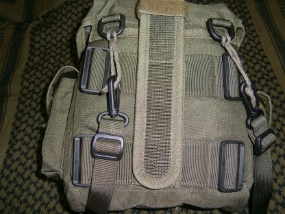 Picture 2:The back side of the haversack