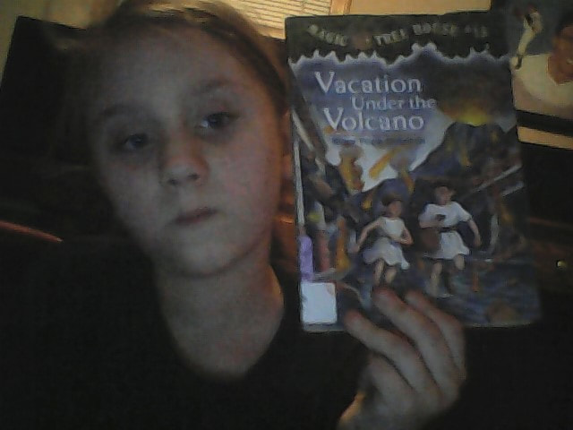 Book Report Magic Tree House Vacation Under The Volcano Mountain Rants