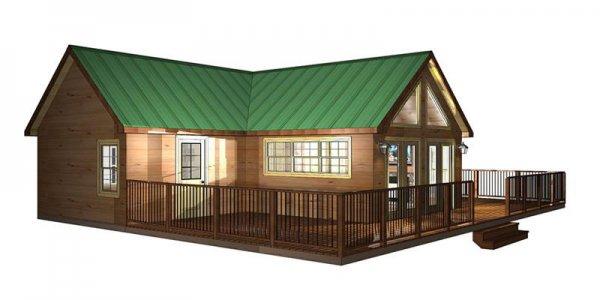 Modular Log Cabin 101 04 Mountain Recreation Log Cabins