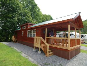 RV Park Log Cabins NC - Custom Log Home