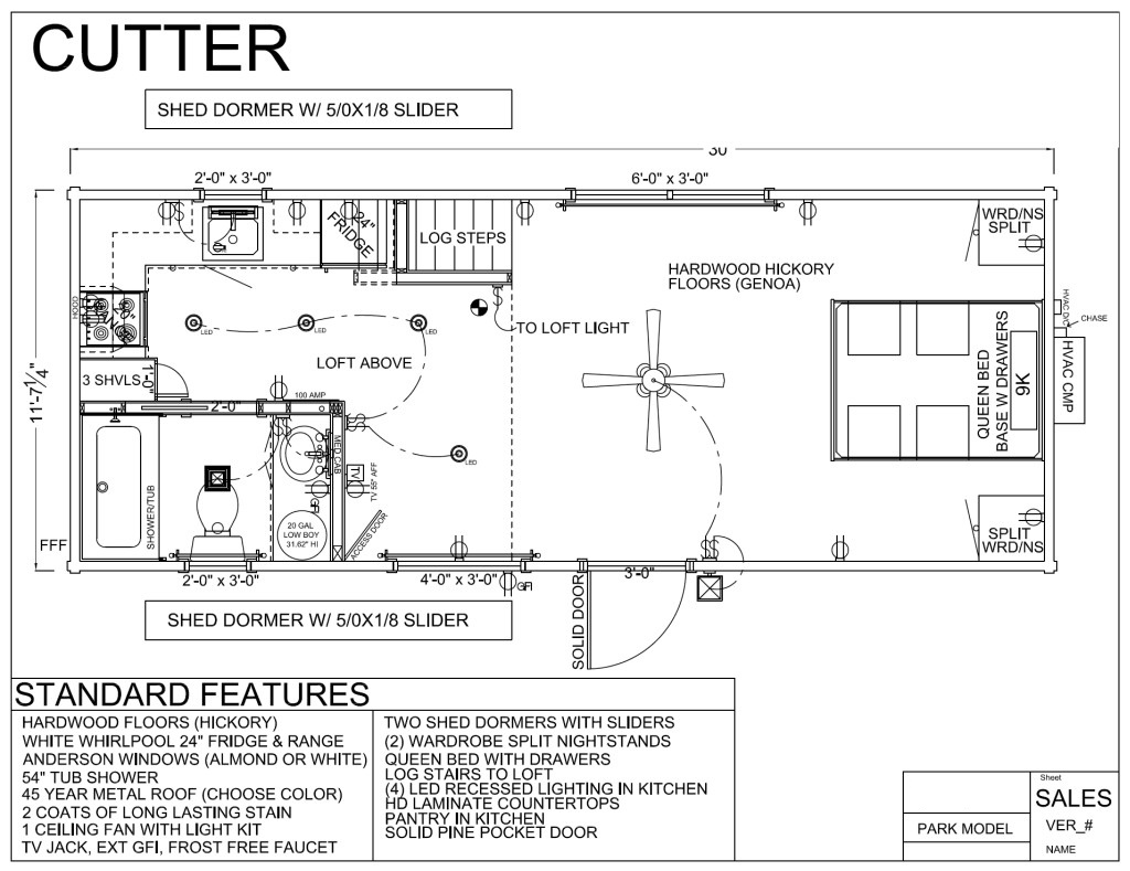 CUTTER FLOORPLAN
