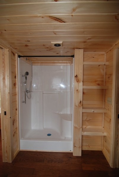 48″ Shower with Seat