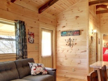 Permalink to: Park Model Log Cabins | RV Park Log Homes