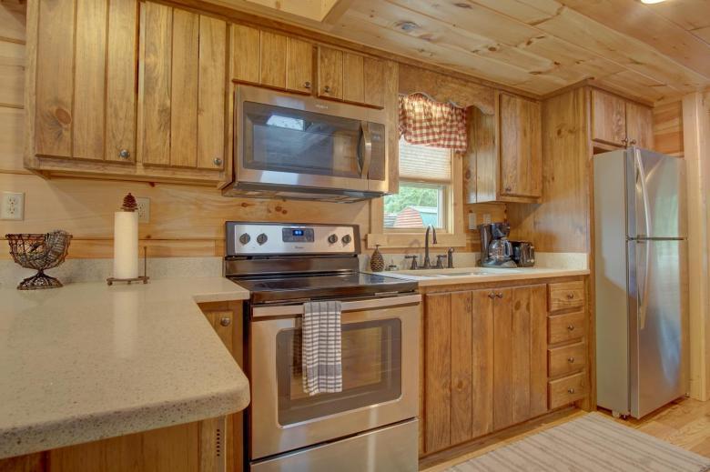 Top-Line 2BR kitchen