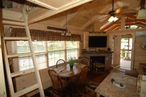 44 X 12 Top Line Park Model Log Cabin Best