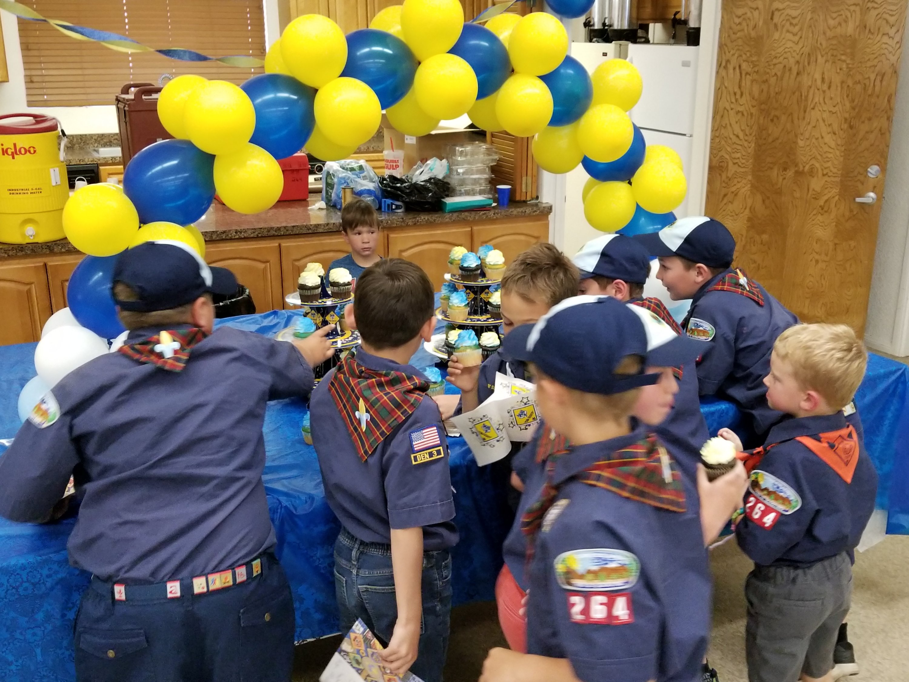 Mountain-wide Cub Scouts Graduate up to the Next Rank – Live