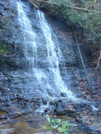 Waterfall near Mtn Rest Cafe