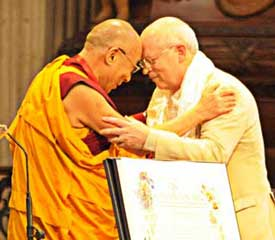 The Dalai Lama Wins the Templeton Prize and Gives It Away!