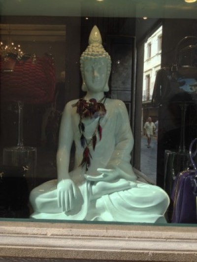 A Buddha in Sitges