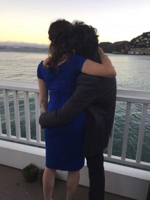 Jessica and Vinchenzo at Wedding
