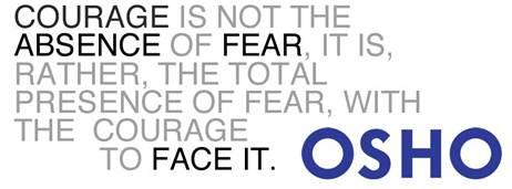 Osho On Fear