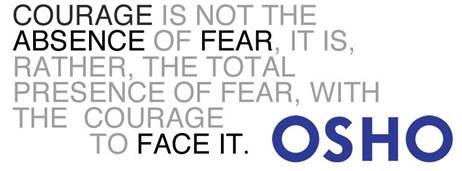 Osho On Fear