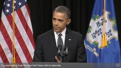 President Obama Spoke To The Children