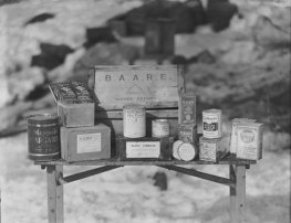 The British Antarctic Air Route Expedition (BAARE) 1930 is an example of how an increase in nutritional knowledge allowed for better provisioning of polar parties. Photo by Freeze Frame Historic Polar Images