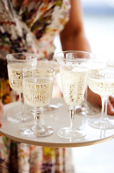 Mix and Match Champagne Glasses