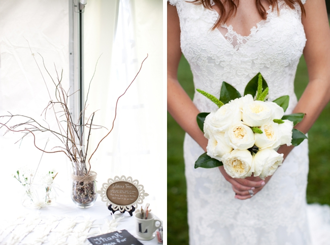 Rainy Blowing Rock Wedding with Shabby Chic Details
